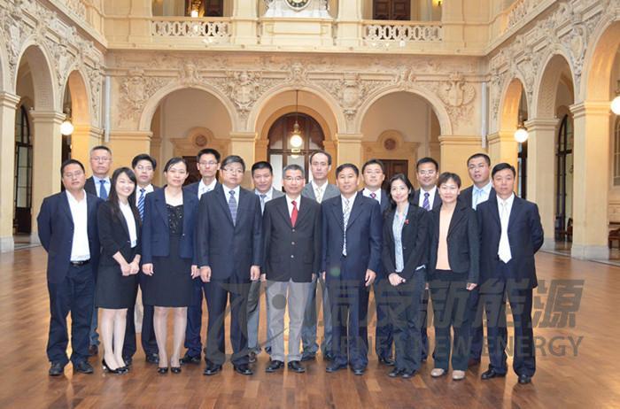 江苏商务代表团赴欧考察圆满成功