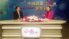 "【Feb 27th,2014 China Net""China Talk"" 】 Exclusive interview president Mr Zha Zhengfa-Exploring the new mode  of PV"