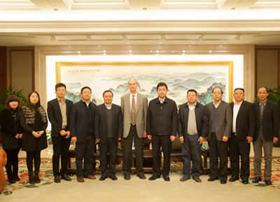 Wuxi's Mayor Received STR's Chairman