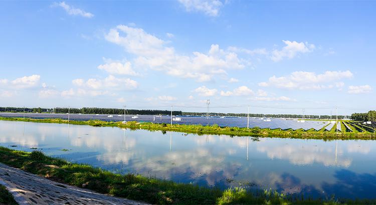 江苏 金湖 100MW 旅游观光型光伏电站