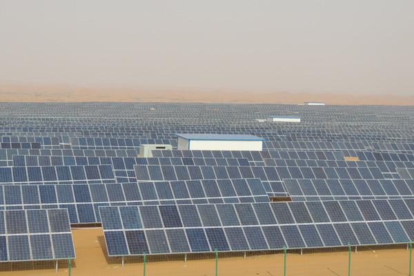50MW Power Plant for Ecological Tourism,in Zhongwei,Ninxia,China