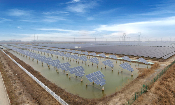 100MW Power Plant for Ecological Tourism,in Sheyang,Jiangsu,China