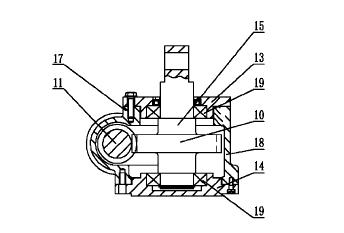 一种改进的用于光伏发电单轴跟踪 系统的蜗轮蜗杆减速器