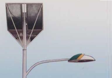 太阳能路灯(单灯杆)