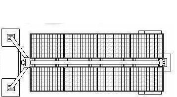 8组块光伏支架
